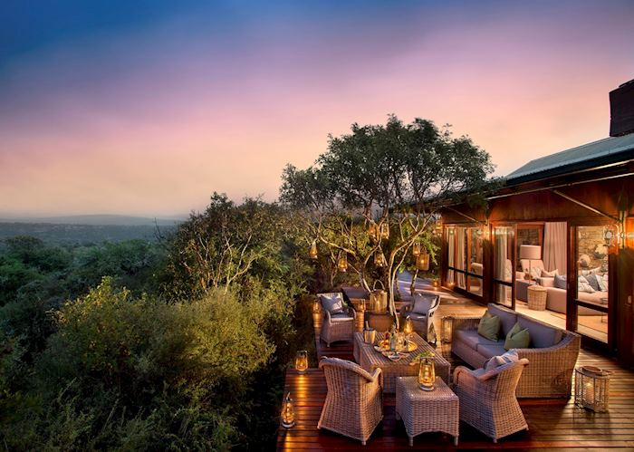 Kwandwe Ecca Lodge deck