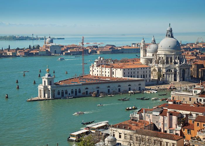 Aerial view of Venice