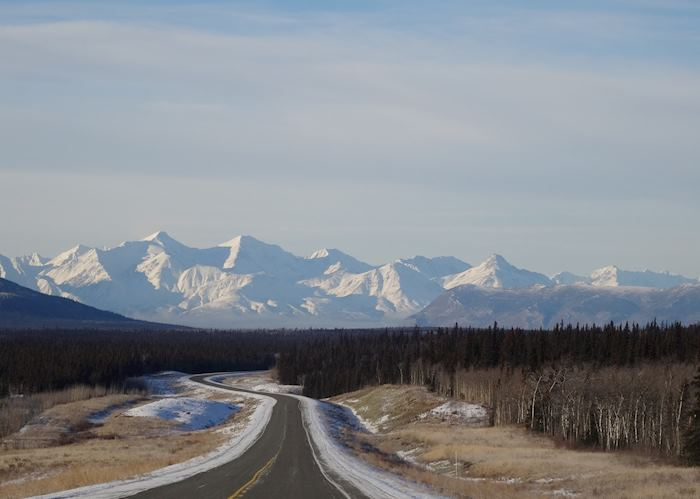 The road to Haines Junction, Yukon