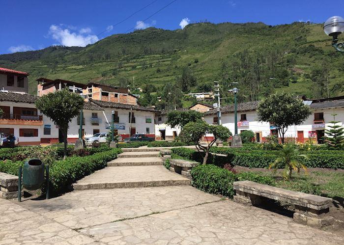 Leymebamba main square