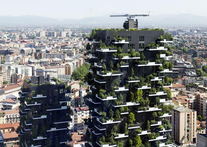 Bosco Verticale, Modern Milan