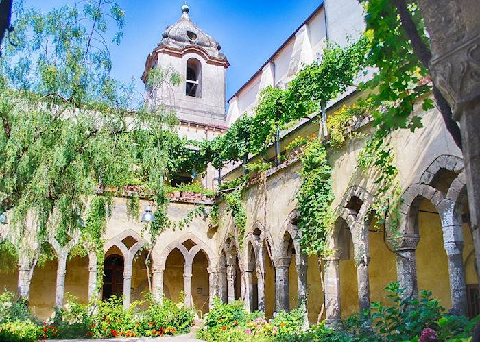 Cloister at San Francesco d'Assisi Church, Sorrento