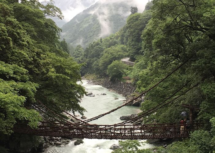 Vine Bridge, Iya Valley
