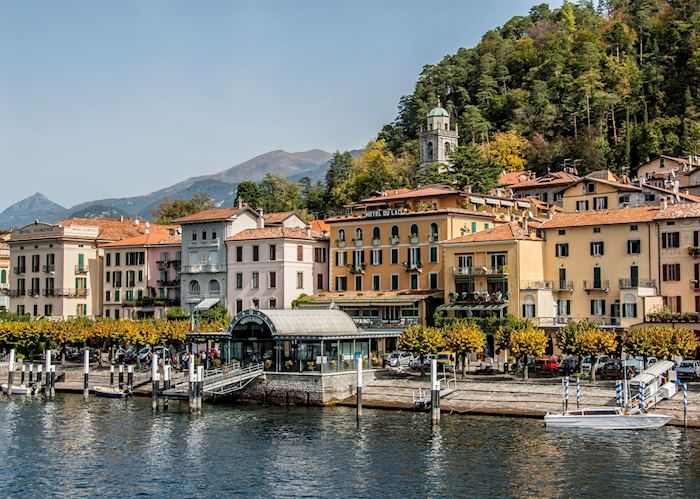 Bellagio waterfront, Lake Como