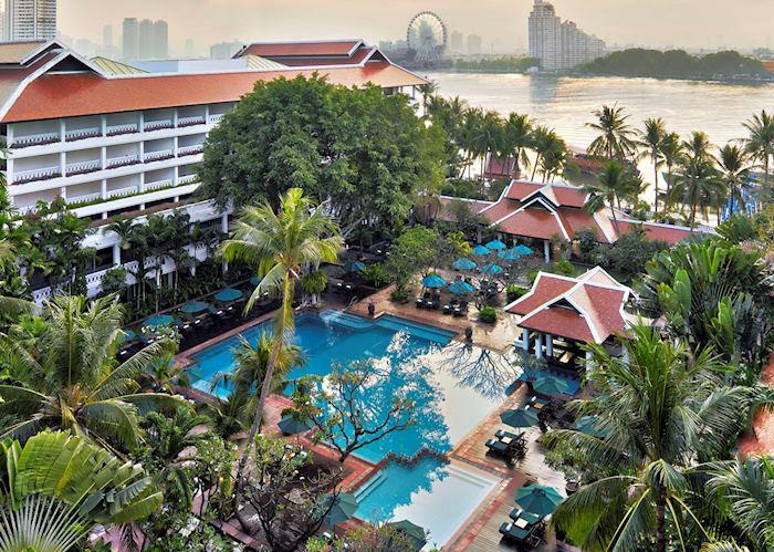 Pool, Anantara Riverside Bangkok Resort
