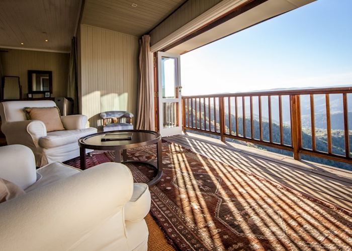 Luxury suite, Camp Figtree, The Addo Elephant Park