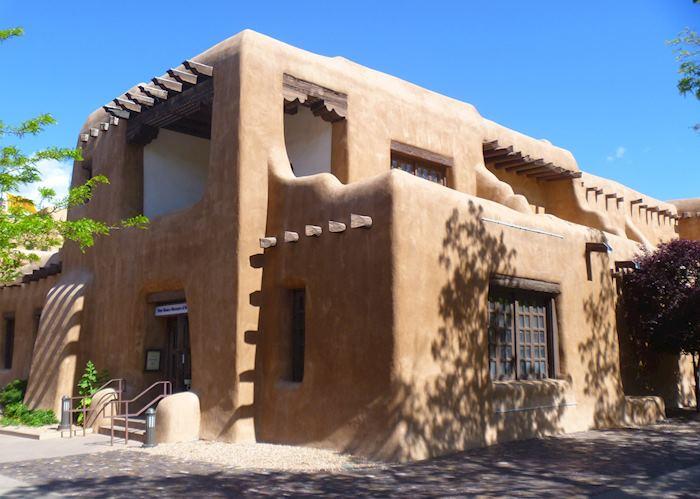 Adobe building in Santa Fe