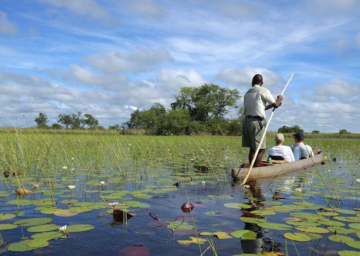 Mokoro in the Okavango Delta