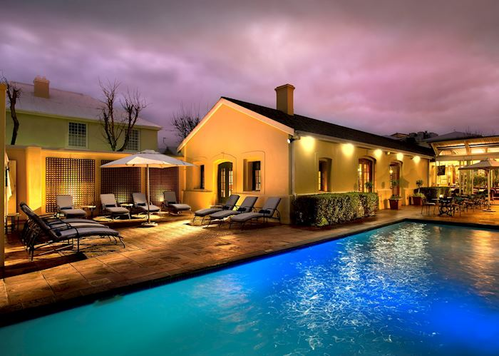 Pool area, The Portswood Hotel