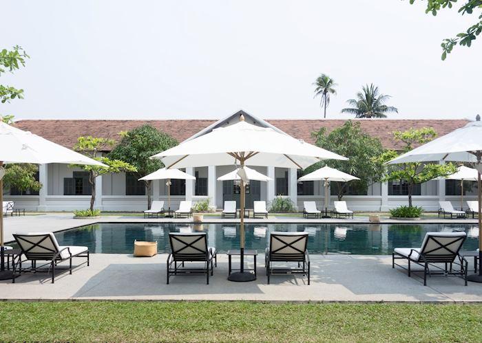 Pool area, Amantaka