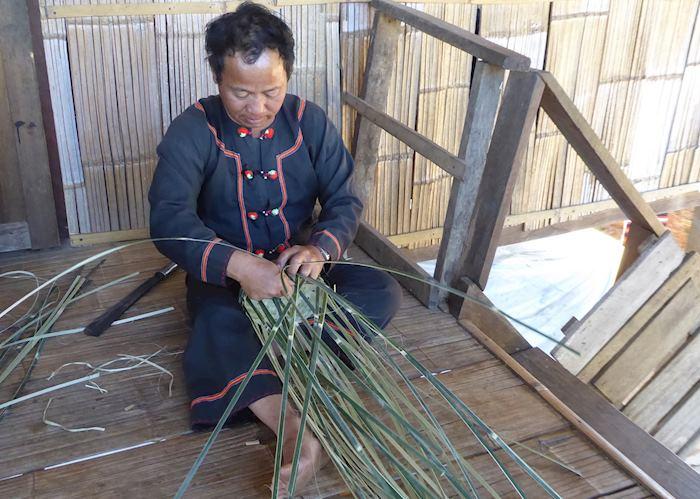 Bamboo weaving, Doi Pumuen