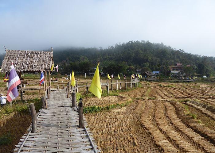 Ko Ku So Bamboo Bridge, Pai
