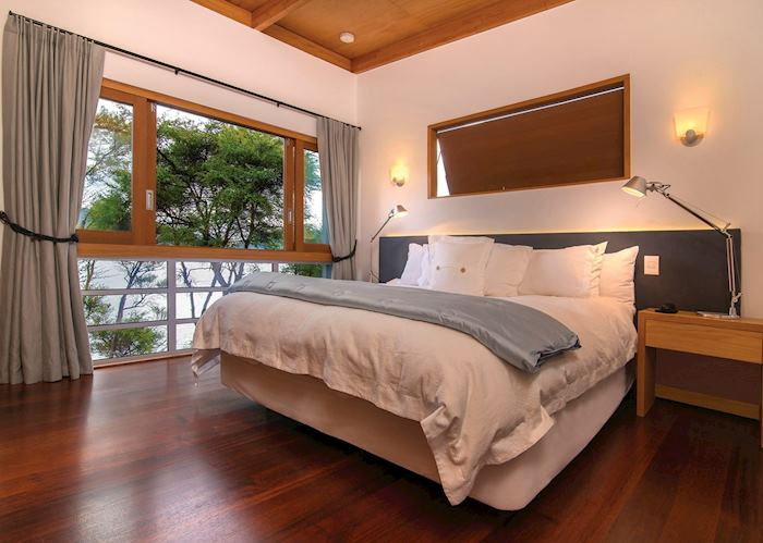 Kereru Suite Bedroom, Bay of Many Coves, Picton & The Marlborough Sounds