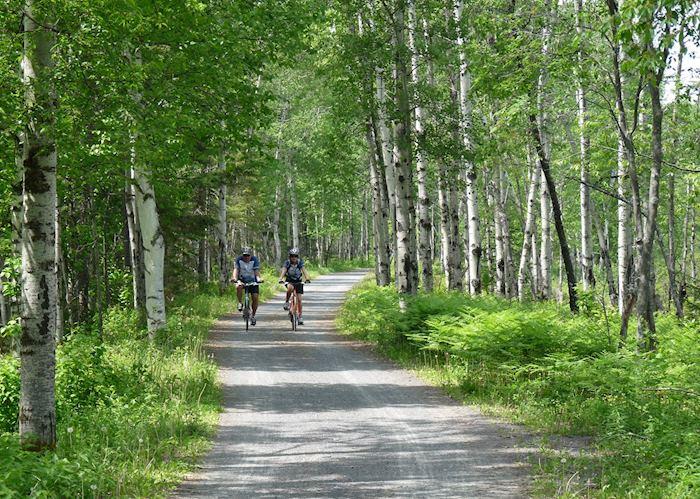 Cycling in Saguenay