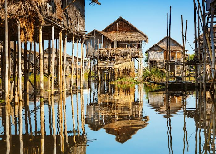 Stilted villages of Inle Lake