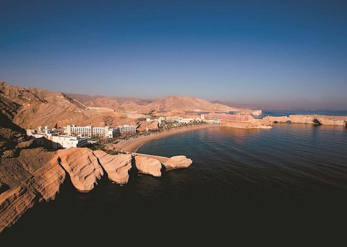 Aerial view, Shangri-La Bar Al Jissah, Muscat