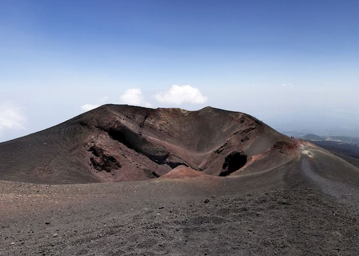 Summit crater, Mount Etna