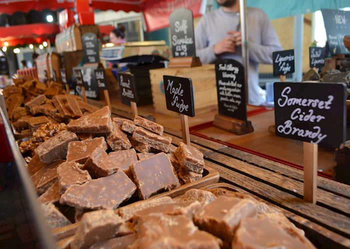 Fudge Stall, Borough Market