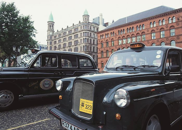 Black cab political tour, Belfast