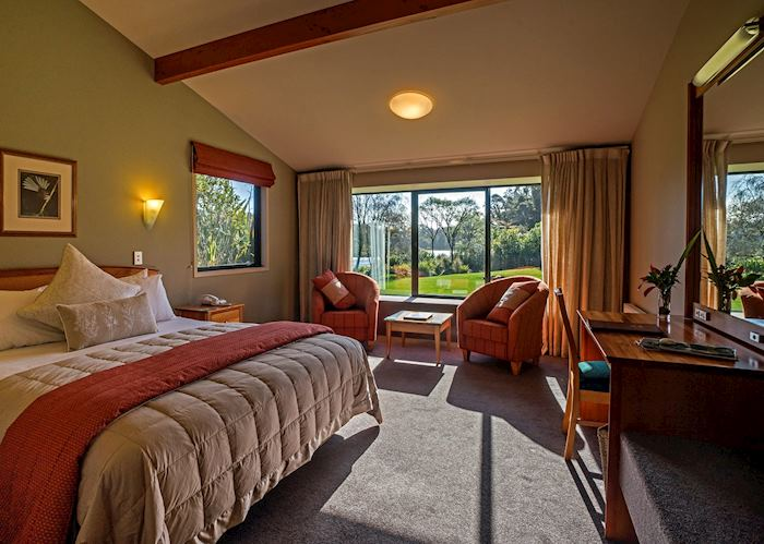 Rainforest Room, Wilderness Lodge Lake Moeraki