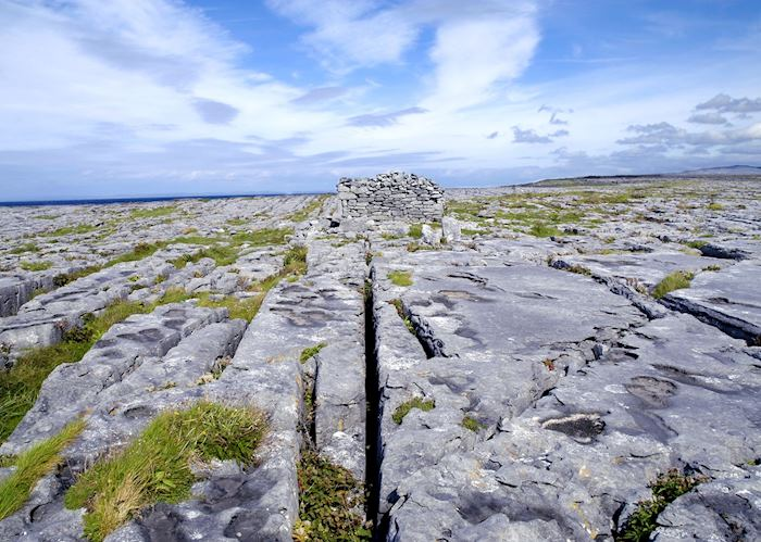 Karst landscape of the Burren