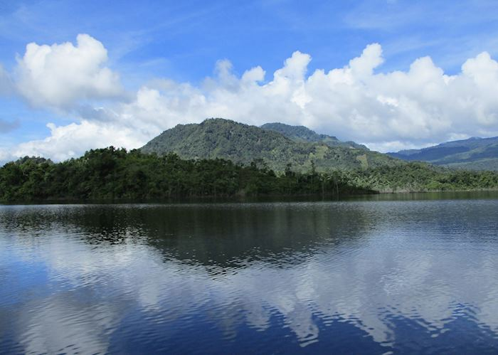 Stunning scenery from the Bengoh Lake
