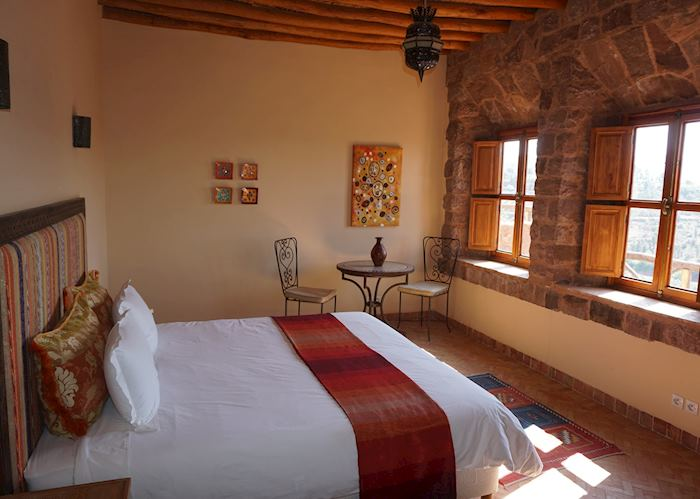 Assif Standard room, Kasbah Angour, High Atlas Mountains