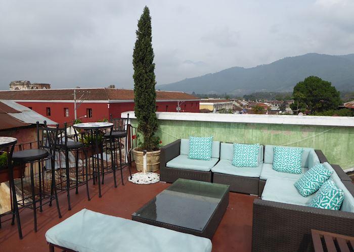 Roof terrace, Meson de Maria