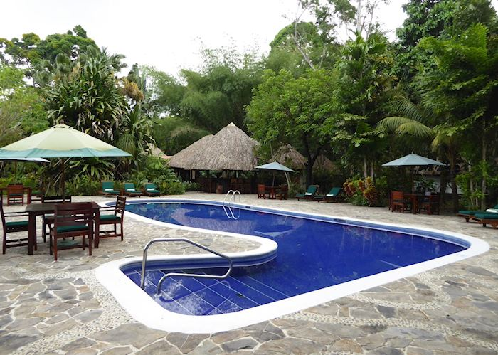 Swimming pool, The Lodge at Pico Bonito