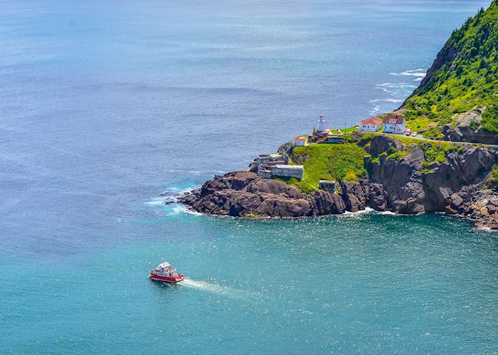 Fort Amherst, near St John's