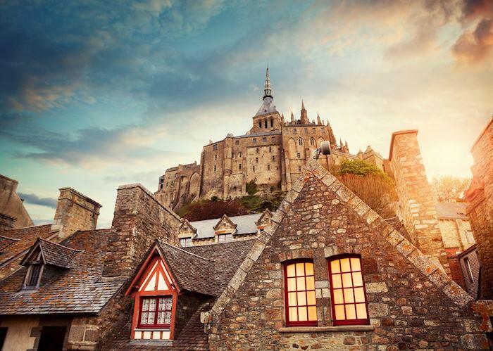 Mont Saint-Michel, Normandy