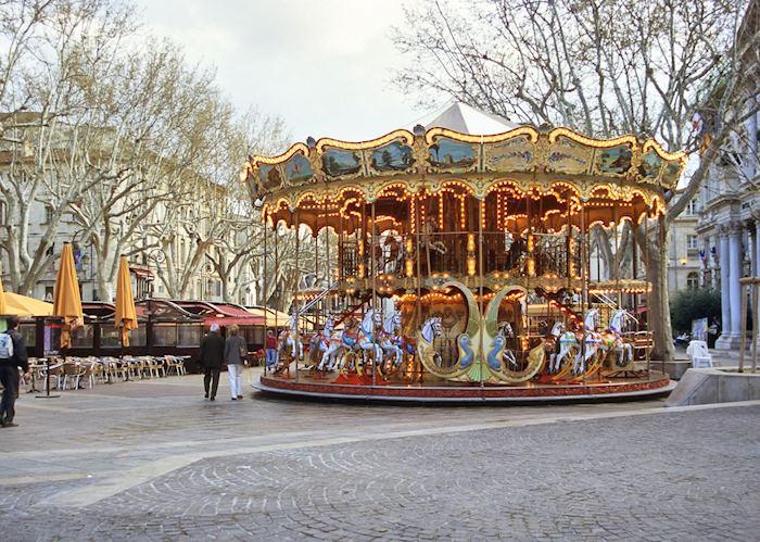 Carousel in Avignon, Provence