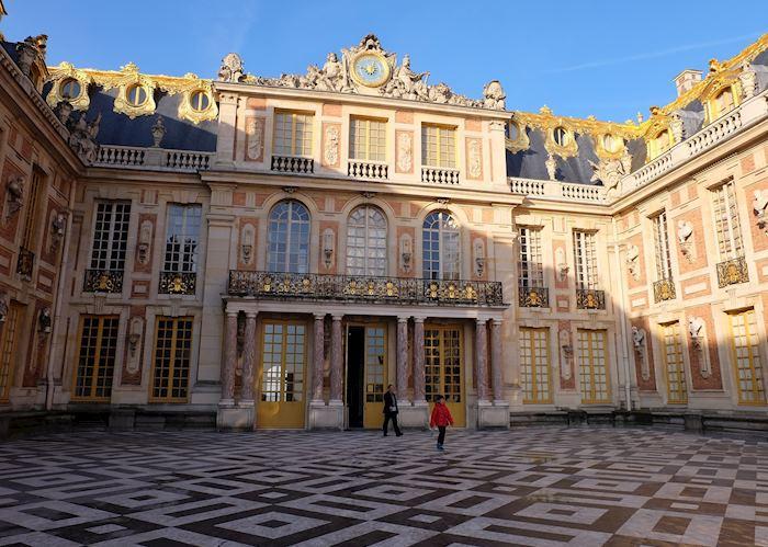Inner courtyard, Château de Versailles