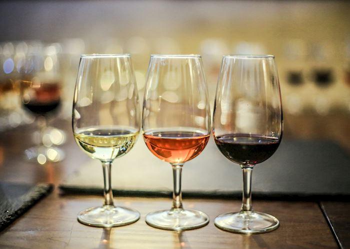 Glasses of wine, France