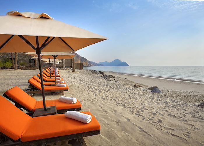 Beach, Six Senses at Zighy Bay, Musandam