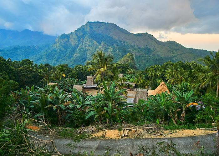 Local village, Flores
