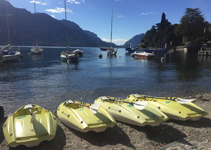 Kayak Lake Como, Lake Como