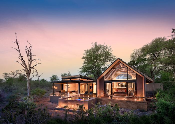 Lion Sands Private Game Reserve - Ivory Lodge Villa
