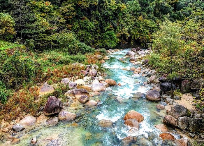 Nakasendo walk river