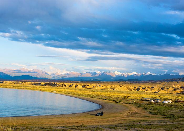 Song-Kul Lake, Kyrgyzstan