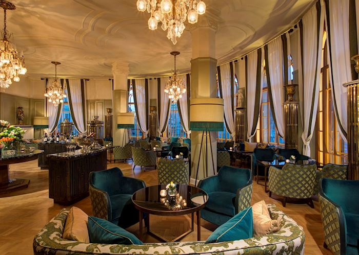 Rotonda Lounge at the Astoria Hotel, St Petersburg