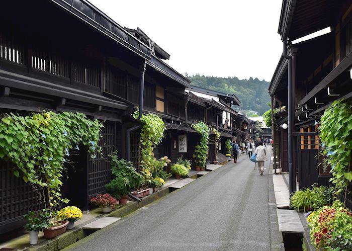 Local houses in Takayama