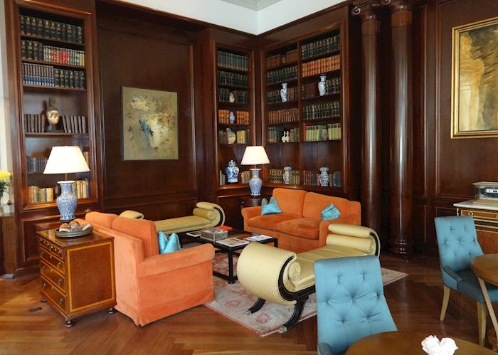 Lobby of the Belmond Hotel, Lima