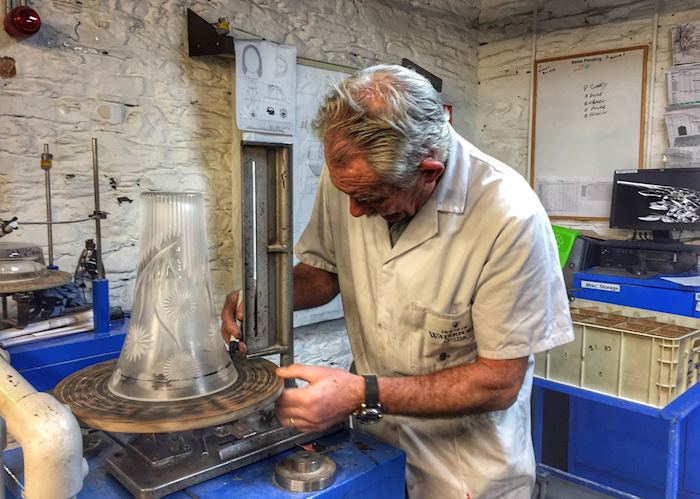 Waterford Crystal artisan