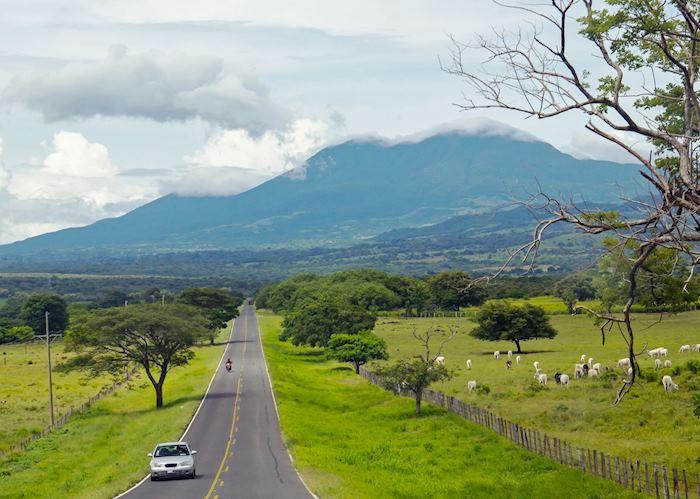 Driving through Tenorio, Costa Rica