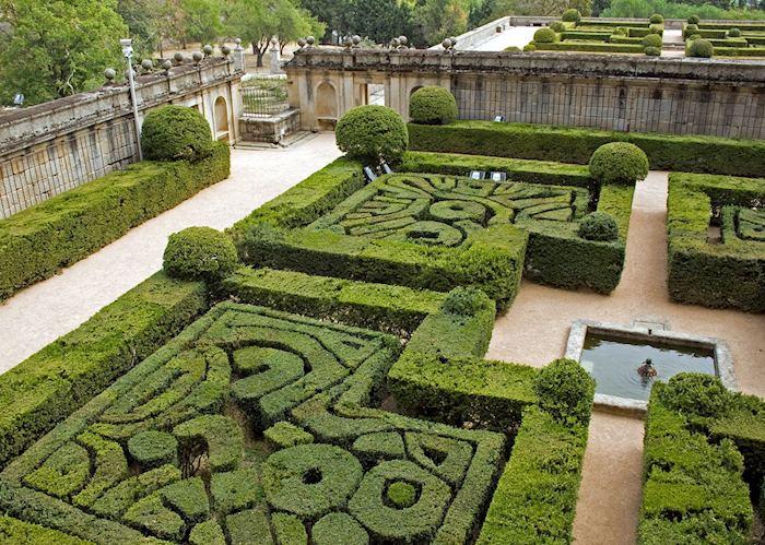 Hedge maze, El Escorial