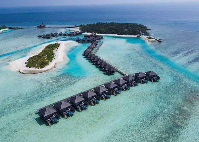 Aerial view, Anantara Veli Maldives Resort, Maldive Island