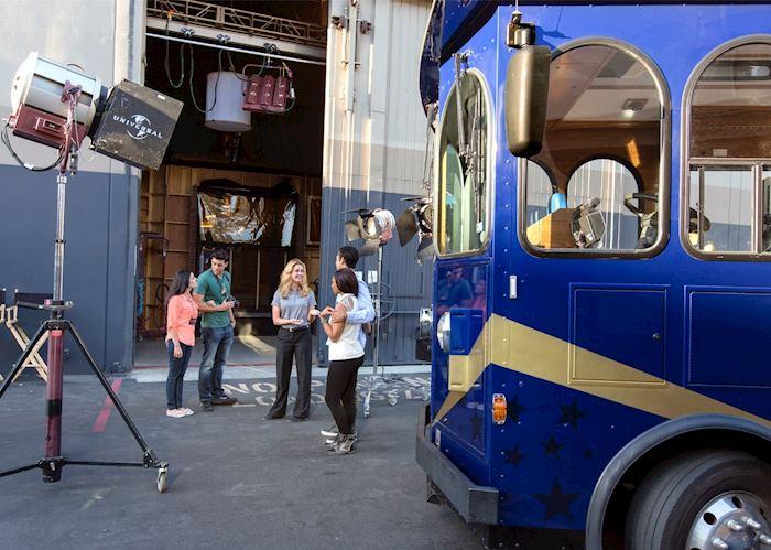 Universal Studios VIP Experience Backlot Stage Door