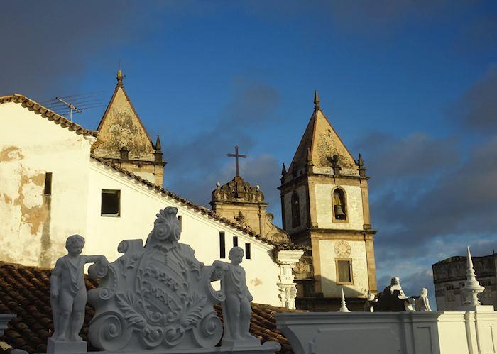 View of Sao Francisco church, Salvador