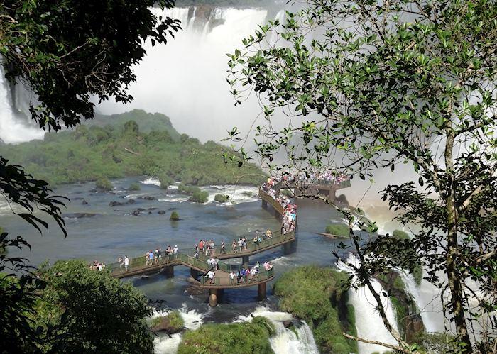 Walkways at Iguaçu Falls